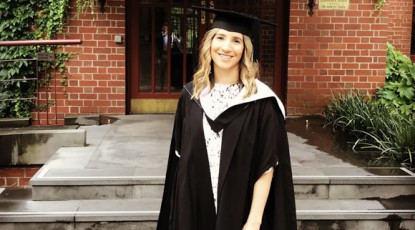 Lauren Whelan Graduates with a Masters of Construction Law