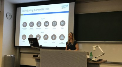 ConnellGriffin presents to UNSW Students