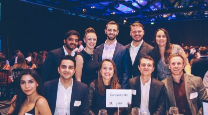CG attends Roads Australia Young Professionals Gala Dinner