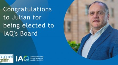 Julian Hemms elected to the Board of the Infrastructure Association of Queensland Inc.